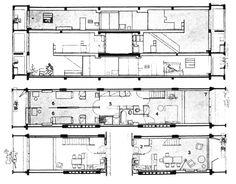 Le Corbusier | Unité d'Habitation | 1952