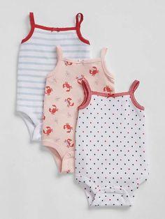 7bb1beccd Bruna - Organic Cotton Baby Bodysuit With Integral Skirt - Surf ...