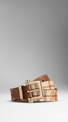 Haymarket Check Belt | Burberry