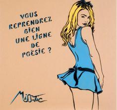 Miss Tic, Alice aux pays des merveilles Street Wall Art, Street Art Graffiti, Land Art, Creation Art, Lucky Luke, Morris, Art En Ligne, Building Art, Comics Girls