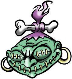 Shrunken Head by Heartattackjack on DeviantArt Halloween Tattoo Flash, Halloween Art, Mask Drawing, Doodle Art Drawing, Shrunken Head Tattoo, Zombie Drawings, Hunter Tattoo, Sacred Heart Tattoos, Tiki Head