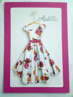 Äitienpäivä Paper Crafts, Diy Crafts, Scrapbook, Happy Mothers Day, Summer Dresses, Malli, Cards, Gifts, Beautiful