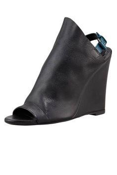 Balenciaga leather glove wedges