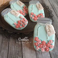 How To Decorate A Cookie Jar Home  Cookie Connection  Briana  Pinterest  Mason Jar Cookies