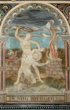 Victorian Murals in a Norman Church; The Creation and Fall 15
