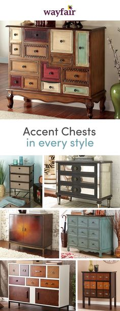 Storage, meet style. The perfect piece of home décor, accent chests are the perfect addition to your home, especially if you're working with small space. Show off your personal decorating skills while creating extra room to get organized with endless options of accent chests. Shop styles for every space at up to 70% OFF every day, and enjoy FREE shipping over $49 (even the big stuff!). Sign up to see more!