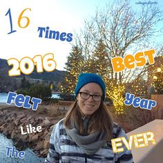 It's impossible to deny that 2016 was a year of highs and lows. This #glutenfree #college #celiac wants to start the #NewYear on a positive note by sharing 16 times 2016 felt like the #BestYearEver. #health #reflection #positivity