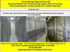 All welded wire tenant storage lockers in Harrison NJ. Lowest overall costs. Locker Ideas, New York City Ny, Cost Saving, Cage, Lockers, Locker Storage, Layouts, Nyc, Safe Deposit Box