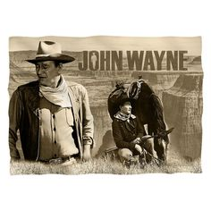 """Checkout our #LicensedGear products FREE SHIPPING + 10% OFF Coupon Code """"Official"""" John Wayne/Stoic Cowboy-Pillow Case-White-One Size - John Wayne/Stoic Cowboy-Pillow Case-White-One Size - Price: $25.99. Buy now at https://officiallylicensedgear.com/john-wayne-stoic-cowboy-pillow-case-white-one-size"""