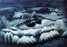 Birch and Shadow by Laura Boswell