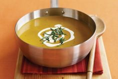 South Indian pumpkin & coconut soup  Quick soup recipies