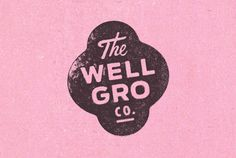 Love this identity designed by Karl Herbert . The Well-Gro Co is a company that promotes healthy food choices for children. Design Nike, Web Design, Type Design, Typography Inspiration, Graphic Design Inspiration, Brand Identity Design, Branding Design, Typography Design, Type Logo