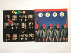 Devo - Freedom of Choice & Devo - Live - Vinyl Record LP (BSK3435) (mini 3548) #ExperimentalRock