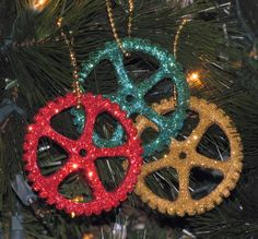 steampunk gear for the Christmas tree