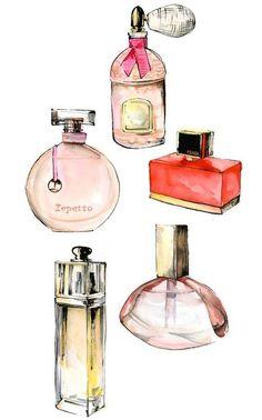 Elephant Illustration, Watercolor Illustration, Photo Deco, Industrial Design Sketch, Fashion Wall Art, Best Perfume, Love Wallpaper, Bottle Design, Fashion Sketches
