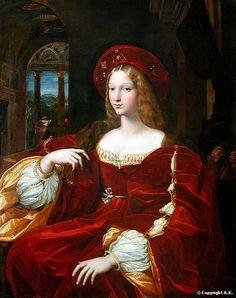 Portrait of Dona Isabel de Requesens, (1500-1577); Raphael