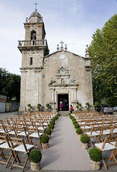 Wedding in Pontevedra, Spain. From Casilda se casa Blog