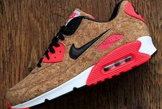 Nike celebrated the 25th anniversary of Air Max with a limited editions in cork.