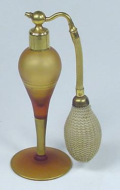 art deco perfume bottle. Remember when there were no office policies on perfume? People smelled soooo good.