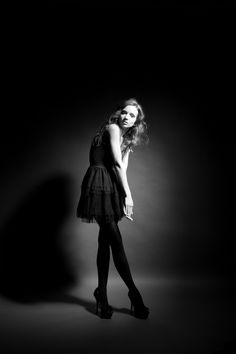 It's amazing what you can do with a single light (and the quality of light a beauty dish can produce)