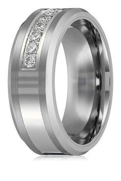 http://www.amazon.com/King-Will-Tungsten-Carbide-Polished/dp/B00JZJNC02/ref=sr_1_36?s=apparel&ie=UTF8&qid=1438319953&sr=1-36    Amazon.com: King Will 8mm White Tungsten Ring Unisex Wedding Band Polished Beveled Edge CZ Stone Channel Set: Clothing