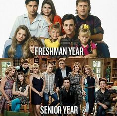 Full House: then and now.