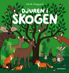 Djuren i skogen av Sarah Sheppard (Kartonnage) Toddler Books, Childrens Books, Grinch, Fairy Tales, Pictures, Animals, Presenter, Picture Books, Sustainability