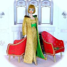 """Golden Glory Barbie""