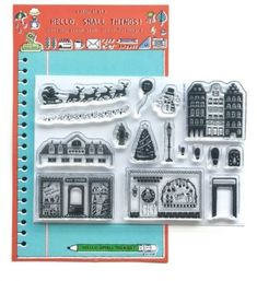Sakuralala Hello Small Things WINTER HOME Clear Stamp Set HST005 Preview Image