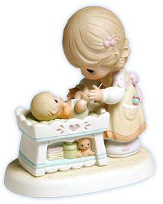 """Count your Blessings""   Precious Moments Figurine"