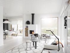 Asuntomessujen kolme suosikkiani: 1 Kannustalo Lato - Valkoinen Harmaja | Divaaniblogit