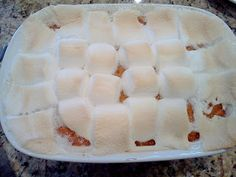 Keeping up with the Kitchen Mom: Old Fashioned Sweet Potato Casserole (Candied Yams)
