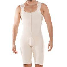 0e59c520308 Mens Plus Size Onesies Bodybuilding Butt Lifting Zipper Up Body Control  Perfect Shapewear Underwear High Quality Online