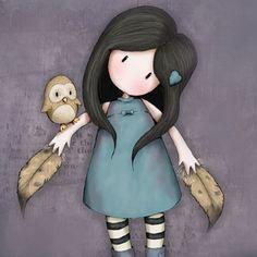 #Muñeca #Gorjuss. The Owl. https://www.tiendagorjuss.com/