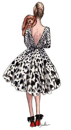 Ilustração de Moda « Cris Vallias – Blog de moda, dicas, comportamento, tendências, estilo, sapato, bolsas, roupa, jaqueta, batom, anel, brinco, moda feminina