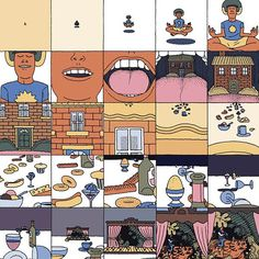 Illustration: Jim Stoten's astonishingly good comic in the new NoBrow 9