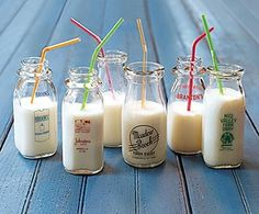 Wishing we could go back to the good old glass milk bottles