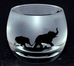 ELEPHANT-Boxed-CRYSTAL-GLASS-TEA-LIGHT-CANDLE-HOLDER