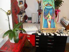 Studio Rubi Juarez Studio, Antiques, Furniture, Home Decor, Art, Antiquities, Art Background, Antique, Decoration Home