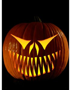 Easy Pumpkin Carving, Scary Pumpkin, Pumpkin Art, Pumpkin Faces, Pumpkin Carvings, Carved Pumpkins, Pumpkin Ideas, Pumpkin Painting, Sac Halloween