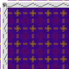 draft image: Figurierte Muster Pl. XLIV Nr. 1, Die färbige Gewebemusterung, Franz Donat, 8S, 8T