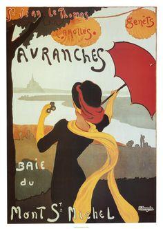 Avranches Affiches par Albert Bergevin sur AllPosters.fr