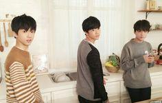 Jising, Jaemin, Donghyuck