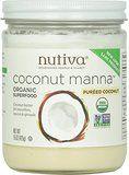 Amazon.com : Nutiva Organic Coconut Manna, 15-Ounce (Pack of 2) : Coconut Oils : Grocery & Gourmet Food