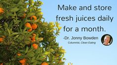 CE Tip 19: Try juicing #EatCleanIn2016
