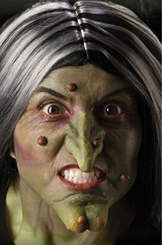 Foam Latex WITCH Nose & Chin Adult Costume Makeup Prosthetics http://www.keeplookingbusy.com/itemDetails.aspx?id=B00OBL058G