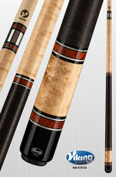 Viking Cues A381 equipped with High Performance Shaft | American Made Custom Pool Cues