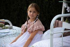 Kristina Pimenova, Girls Dresses, Flower Girl Dresses, Beautiful Hijab, Knitting, Wedding Dresses, Inspiration, Fashion, Kids Fashion