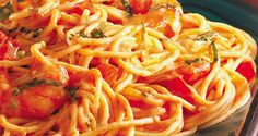 Pasta with Shrimp | Del Monte Philippines http://www.delmonte.ph/kitchenomics/recipe/pasta-shrimp