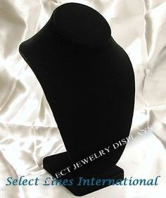 Black Velvet Earring Display Stand Black Velvet Necklace Earring Ring Jewelry Display Velvet 40